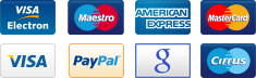 MarkeTurk accepts all major credit cards and PayPal accounts.