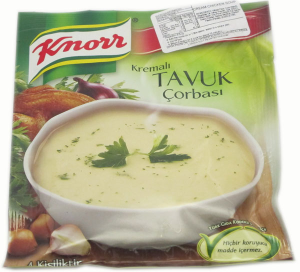 Buy Knorr Cream Chickin Soup 69 gram Online - Turkish Supermarket ...